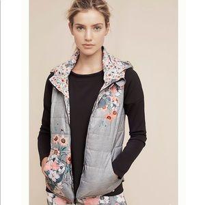 Anthropologie Perennial puffer vest
